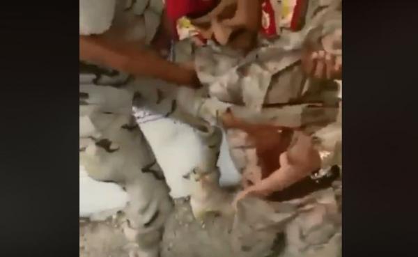 فيديو لحظة اصابة اللواء محمد طماح رئيس الاستخبارات العسكرية في هجوم العند