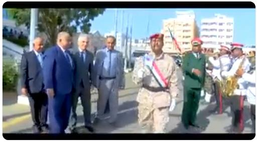 يحدث في اليمن.. اسقبال رسمي وعرض عسكري لاستقبال سفير (شاهد فيديو)
