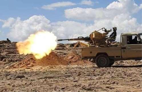 معارك عنيفة بين المقاومة والحوثيين شمال شرق محافظة لحج