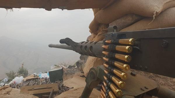 هجوم مفاجئ للجيش الوطني على الحوثيين بصعدة والتحام جبهتي باقم والصفراء.. «تفاصيل + فيديو»