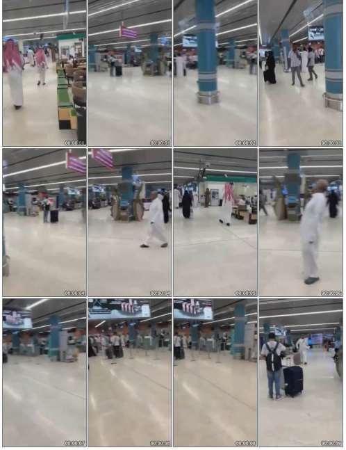أول صور وفيديو من مطار أبها الدولي بعد استهدافه بصاروخ باليستي حوثي