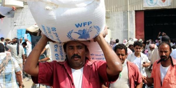 الغذاء العالمي يقول إن الحوثيين منعوا دخول شحنة غذاء كانت مخصصة لـ 100 الف عائلة