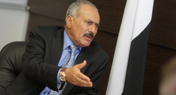 شاهد.. فيديو نادر للرئيس السابق علي عبدالله صالح يتحدث عن أحداث 78