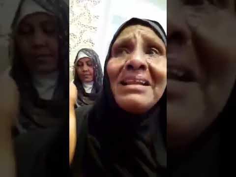 حاجة سودانية يعود لها بصرها بعد اداءها فريضة الحج وتبكي بعد أن رأت الكعبة (فيديو)