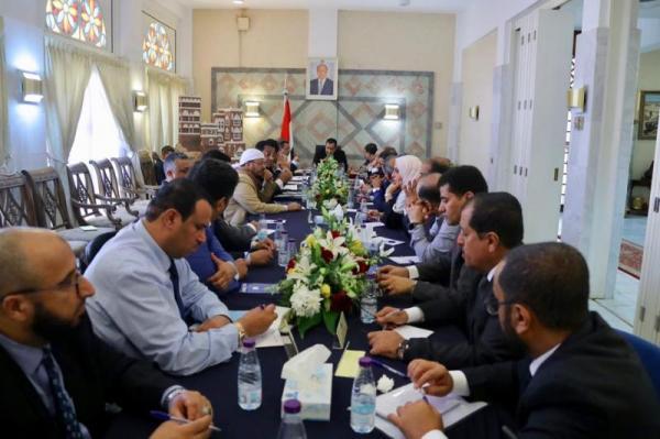 الحكومة اليمنية تصدر بيان هام وتحمل الإمارات مسؤولية الإنقلاب عليها في الجنوب (نص البيان)