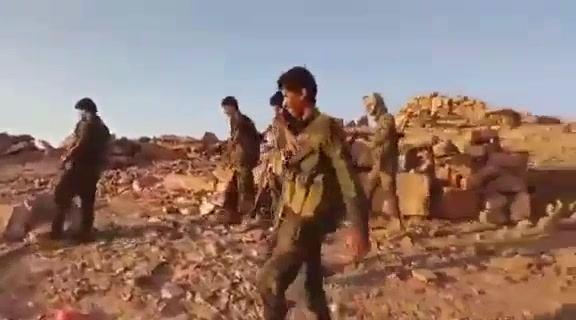 أول فيديو من شبوة يظهر سيطرة الجيش الموالي للرئيس هادي الكاملة على المواقع