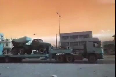 شاهد فيديو تعزيزات كبيرة للشرعية إلى عتق بشبوة