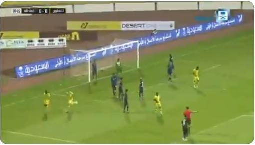 شاهد أهداف مباراة فريقي التعاون والعدالة 3-2 لصالح التعاون (فيديو)