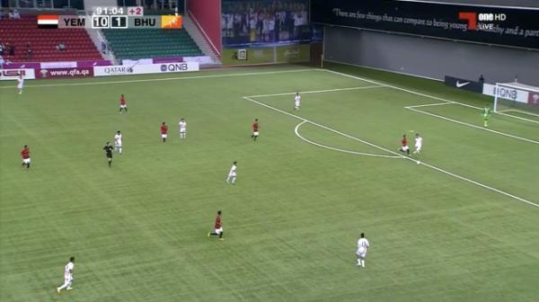 منتخب اليمن للناشئين يكتسح بوتان بعشرة اهداف مقابل هدف (فيديو الاهداف)