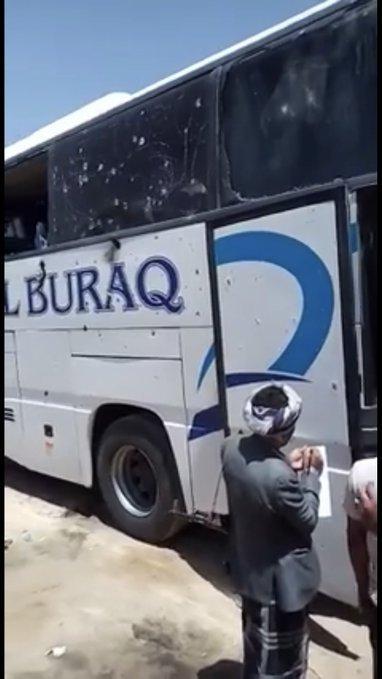 عاجل: ارتكاب مجزرة مروعة باطلاق نيران كثيفة على مسافرين على متن باص نقل جماعي في العبر