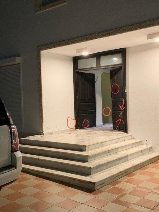 شاهد صور من داخل المنزل الذي قتل فيه حارس الملك سلمان عبدالعزيز الفغم