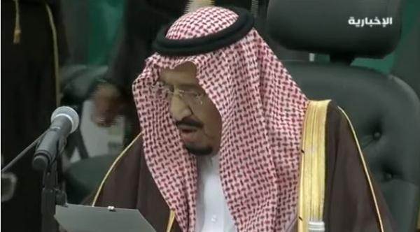 بالفيديو: كلمة الملك سلمان بن عبدالعزيز خلال القمة السعودية الروسية