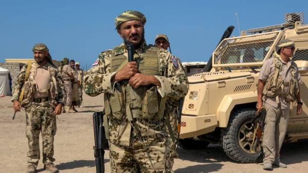 في ظهور جديد للعميد طارق صالح..  يدعو الرئاسة لإعلان انتهاء اتفاق ستوكهولم (فيديو الكلمة)