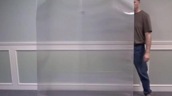 فيديو مذهل.. مادة شفافة تُخفي الأشياء والأشخاص أيضًا