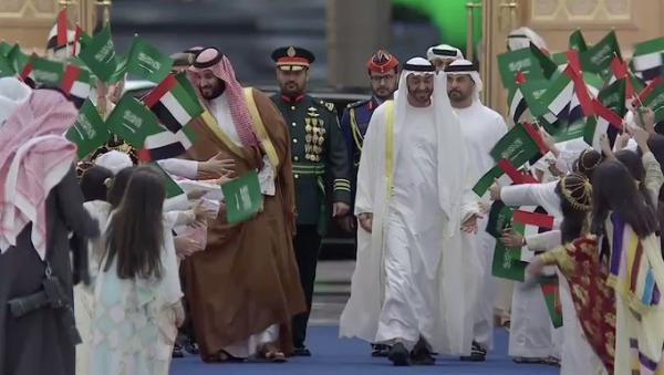 محمد بن زايد يقوم بتصرف مثير بعد وقوعه في خطأ غير مقصود (فيديو)