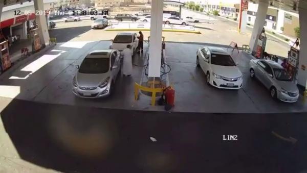 السعودية: شاهد فيديو لحظة انفجار خزان وقود داخل إحدى المحطات بالمدينة المنورة