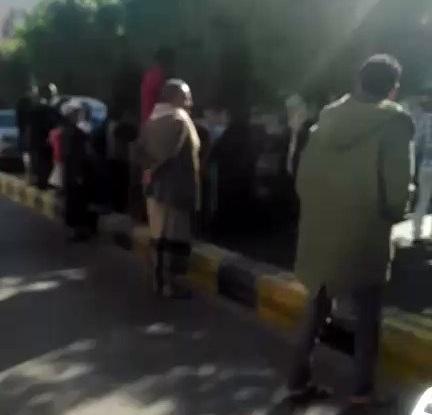 تفاصيل المعركة التي دارت اليوم في شارع الزبيري بصنعاء.. وسقوط ضحاياَ (فيديو)