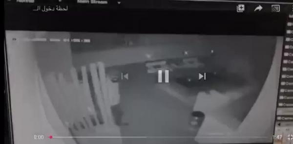شاهد فيديو لحظة اقتحام اللص فيلا نانسي عجرم