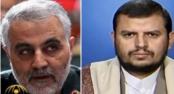 الحوثي يعلنها صراحة توحده مع إيران في مواجهة أمريكا
