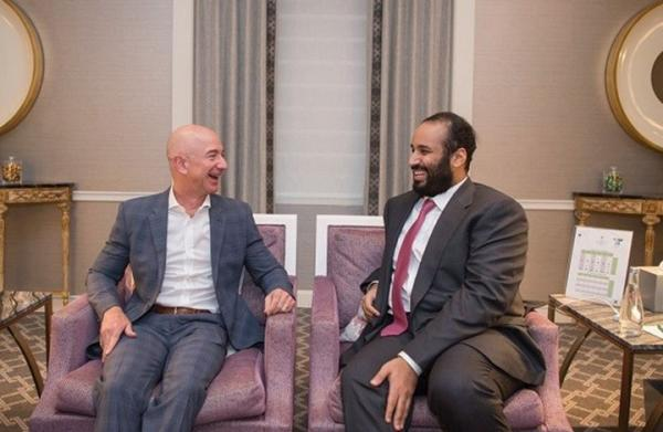 الغارديان: اختراق رئيس أمازون تم بواسطة هاتف ابن سلمان.. والسعودية ترد!