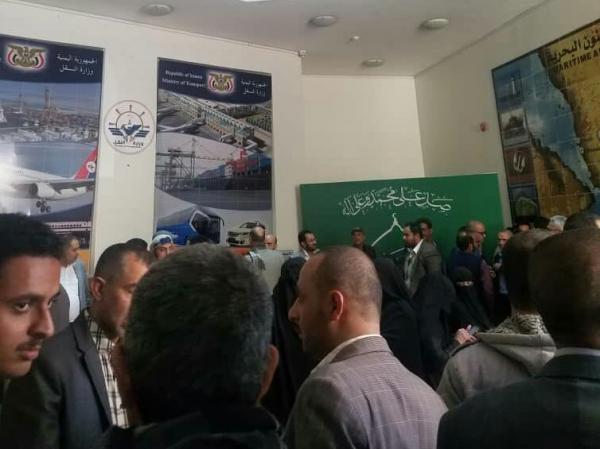 الحوثيون يقتحمون مكتب رئيس هيئة الطيران ويعتدون على مدير مكتبه وإضراب مفتوح يشل حركة الملاحة