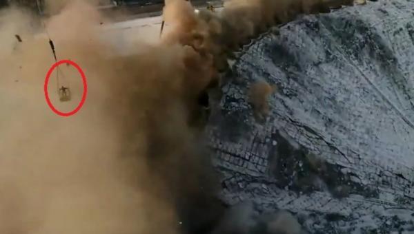 فيديو مروِّع للحظة الانهيار الكبير لملعب روسي