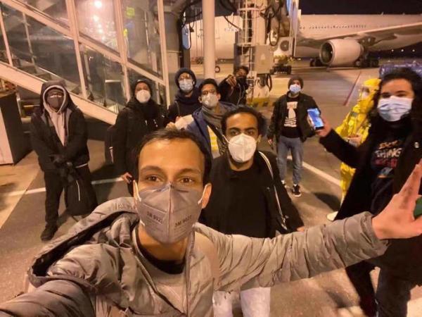 طائرة سعودية تجلي 10 طلاب من مدينة ووهان الصينية بؤرة فيروس كورونا