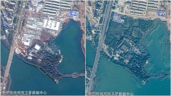 صورتان تكشفان ماذا فعلت الصين بمواجهة فيروس كورونا