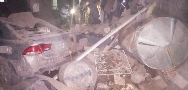 الكشف عن مكان سقوط الصاروخ الذي اطقه الحوثيون على مأرب الليلة الماضية