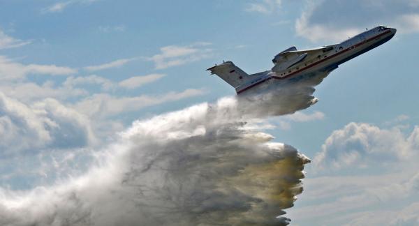 ظهور طائرة برمائية جديدة في سماء روسيا