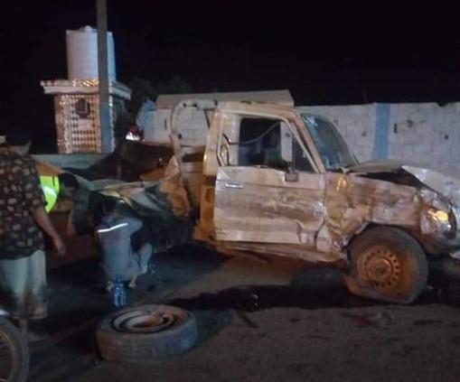 مقتل واصابة 11 شخص في حادث مروع بحفل زفاف بلحج