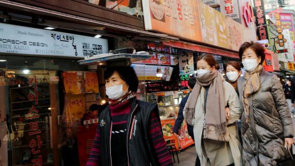 """ارتفاع عدد المصابين بفيروس """"كورونا"""" في كوريا الجنوبية إلى 156 شخصا"""