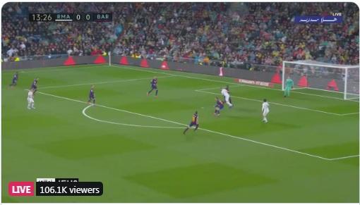 شاهد: بث مباشر لمباراة ريال مدريد وبرشلونه