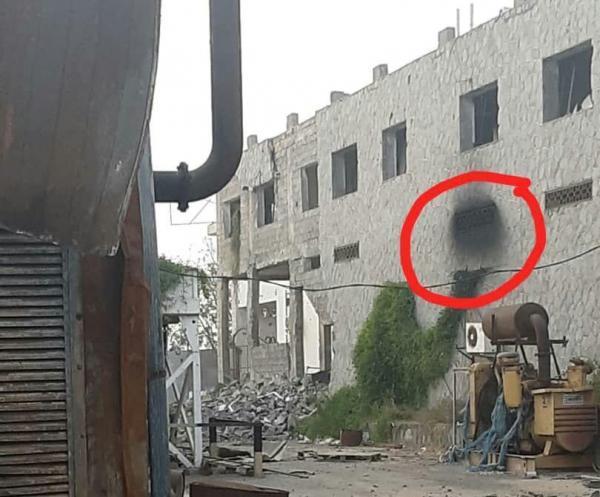 تفجير احدى نقاط الرقابة التابعة للأمم المتحدة في الحديدة (صورة)
