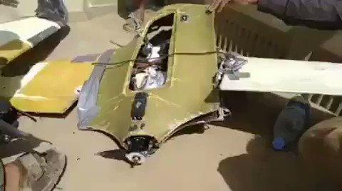 إسقاط طائرة مسيرة للحوثيين في جبهة صرواح بمأرب (فيديو)
