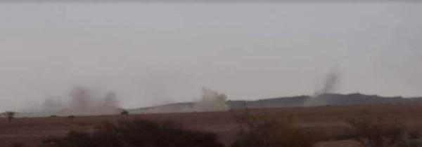 طيران التحالف يقصف مواقع الحوثيين بقوة في جبهة صرواح