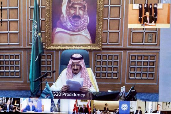 قادة مجموعة العشرين يتعهدون بضخ 5 تريليونات دولار لمواجهة آثار وباء فيروس كورونا الاقتصادية