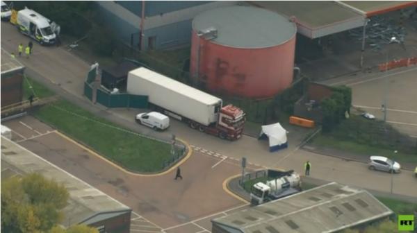 اعتراف سائق الشاحنة التي عثر فيها على 39 جثة في لندن بالقتل غير المتعمد