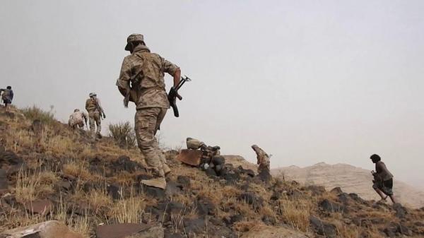 البيضاء.. قتلى حوثيون في هجوم للمقاومة وأبناء القبائل بجبهة الزاهر واحتدام المعارك في مكيراس