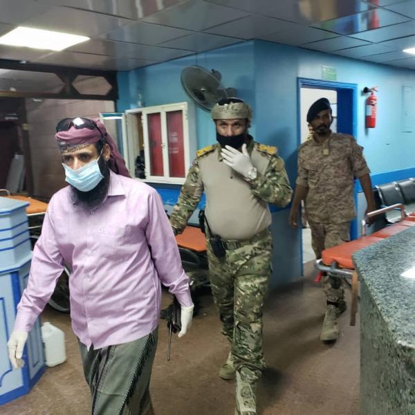 اليمن: قيادة عسكرية جنوبية تنزل إلى مستشفيات عدن في حالة طارئة