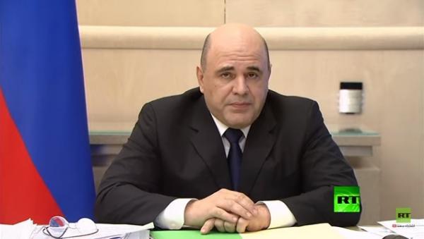 في بث تلفزيوني.. رئيس الوزراء الروسي يعلن إصابته بفيروس كورونا