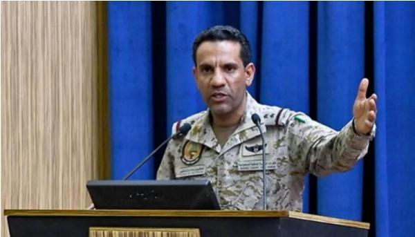 ناطق التحالف يكشف عن إطلاق الحوثيين بصاروخين صباح اليوم ويكشف مكان سقوطهما !