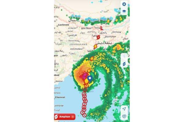 فلكي يحذر من عاصفة إعصارية شديدة للغاية وتاريخية (تفاصيل)