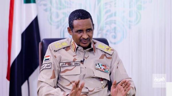 حميدتي يكشف سبب منع طائرة وزير خارجية قطر من الهبوط في السودان (فيديو)