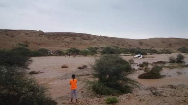 وفاة وكيل بوزارة الصحة غرقاً بسيول الأمطار بحضرموت