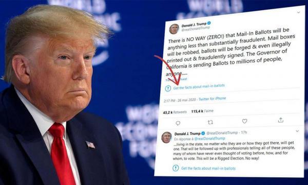 تويتر تترنح أمام غضب ترامب، وتكشف موقفها من التغريدات المخالفة