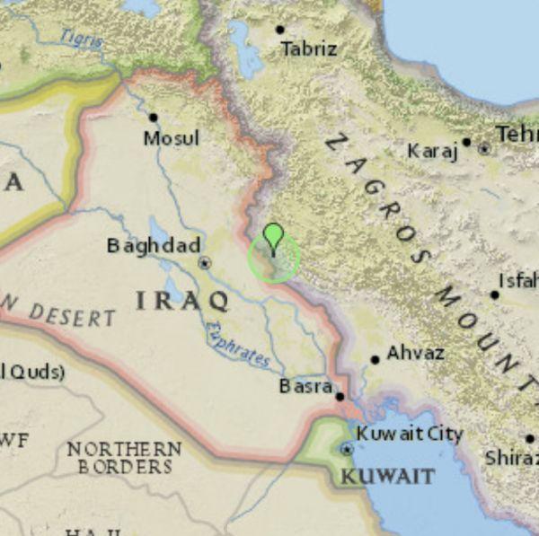 زلزال 4.9 درجة على الحدود الايرانية العراقية بينما اليمن ترزح تحت منخفض جوي واضرار كبيرة