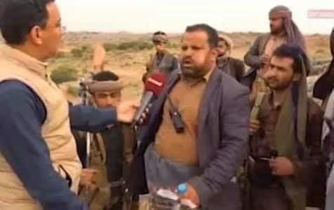 بعدما ظهر في داخل منزل القيادي ياسر العواضي .. وقع اليوم اسيراً بيد القوات الحكومية (صورة)