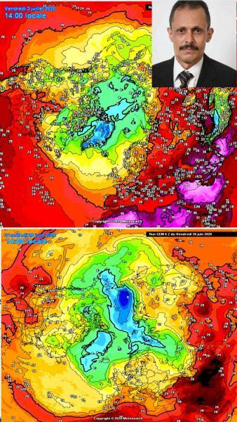 الفلكي الشوافي : موجة حر شديدة تضرب الجزيرة العربية و مؤشرات طقس اليمن  لاسبوع قادم (تحذيرات)