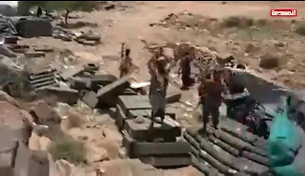 هل سلم الإصلاح اسلحته للحوثيين في قانية .. شاهد الفيديو